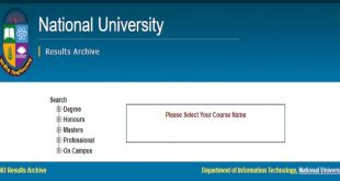 National University Result 2018